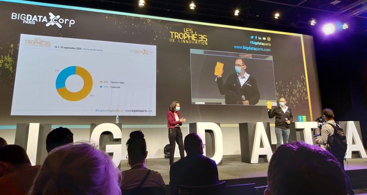 Fashion Data - Lauréat des Trophées de l'Innovation - Big Data