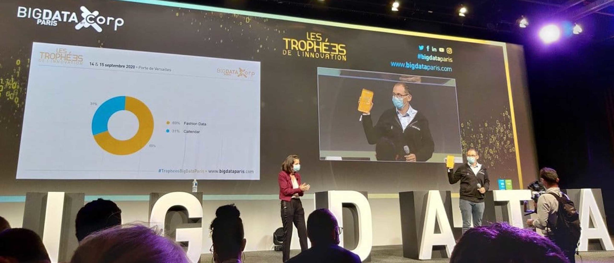 image cover article trophee de l'innovation big data fashion data