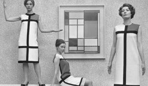 Mode inspire l'histoire de l'art