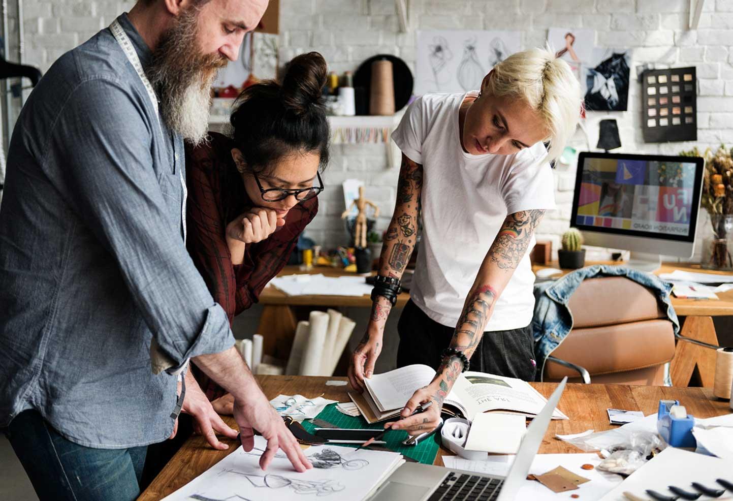 Fashion data visuel fashion designer