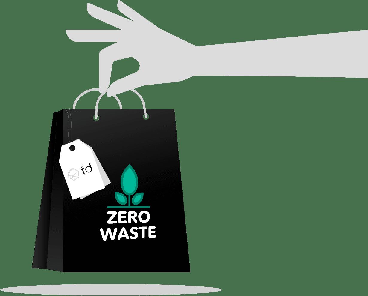 visuel fashion data zero waste