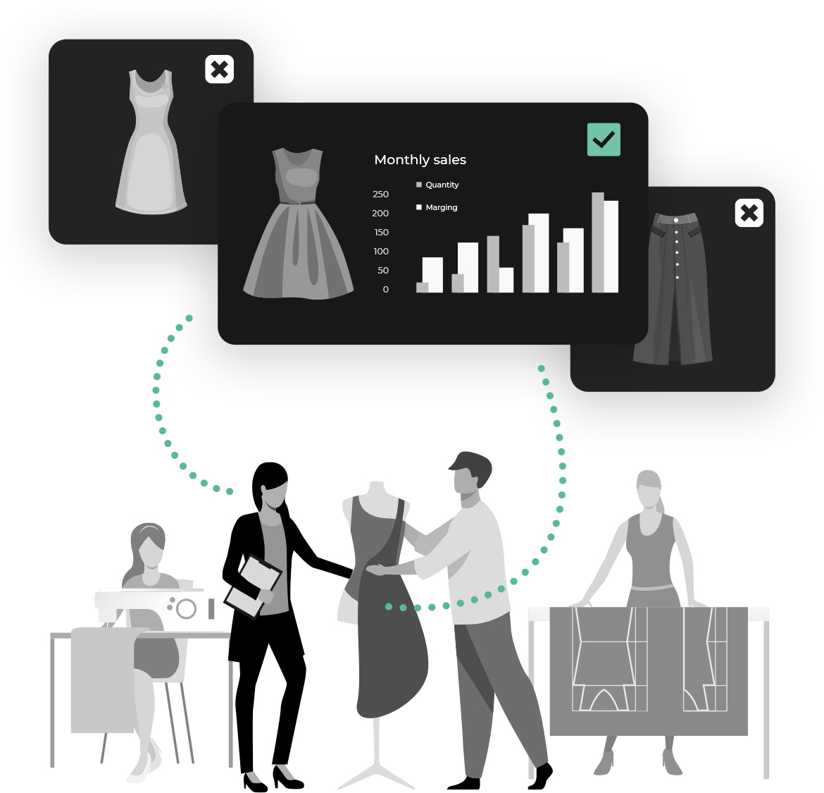 visual product solutions fashion data
